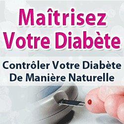 C'est la fin aux piqures d'insuline en maîtrisant votre diabète