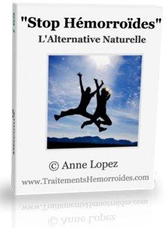 Stop hémorroïdes est le livre écrit par anne lopez sur son approche naturelle pour soigner les hemorroides