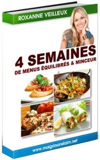 Livre de Roxanne Veilleux du site Maigrirsansfaim.net