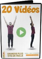 Videos de Paul Dupont pour réaliser les exercices et étirements
