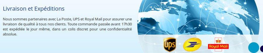 Livraison gratuite dans toute la France
