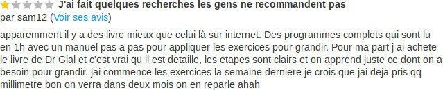 Témoignage d'un lecteur de Jean Michel Pons donne son avis