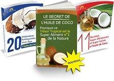 Deux ouvrages offerts avec l'achat des secret de l'huile de coco de Jake Carney
