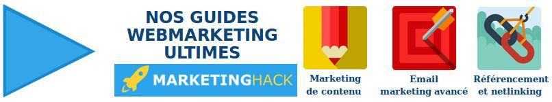 Contenu exclusif et stratégies de marketing pour développer votre business disponibles sur le blog marketinghack