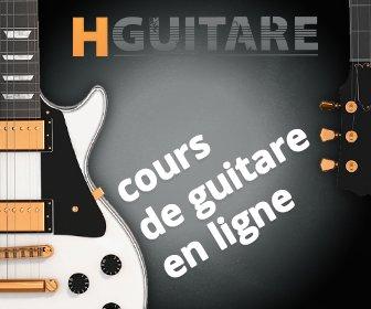 HGuitare.com : cours de guitare en ligne