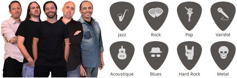 Professeurs de hguitare.com sont passionnés et proposent tous les styles de musique