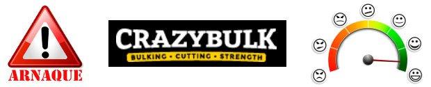 Crazybulk avis : arnaque ou fiable grâce aux témoignages et retours d'experience des consommateurs
