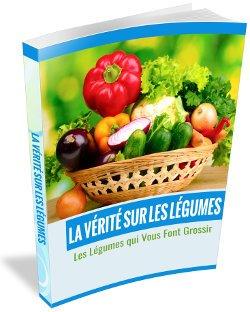 La vérité sur les légumes est offert avec le réducteur de graisse