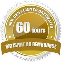 Les clients bénéficient d'une garantie satisfait ou remboursé de 60 jours après leurs achats sur maleextra.fr