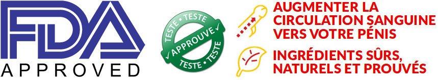 La FDA teste et approuve male extra donne une garantie et protection pour le consommateur