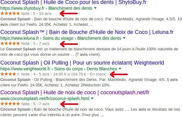 Avis coconut splash : sites revendeurs témoignages des consommateurs