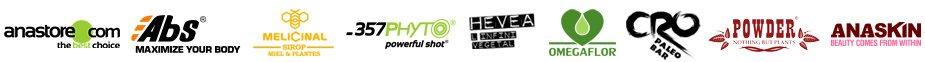 Découvrir les marques de compléments alimentaires partenaires de anastore