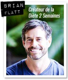 Brian Flatt est nutritionniste et auteur du livre PDF la diète 2 semaines