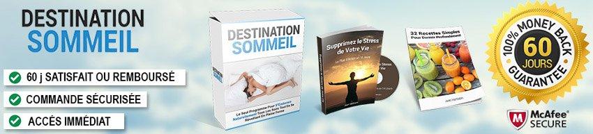 Destination sommeil : achat sécurisé et garantie satisfait ou remboursé