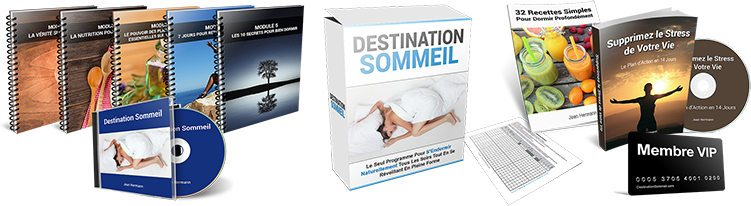 Destination Sommeil est un PDF de jean herman : programme et bonus