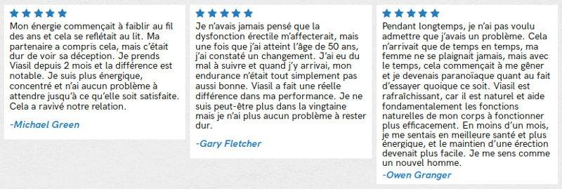 Avis et témoignage de clients de Viasil en France